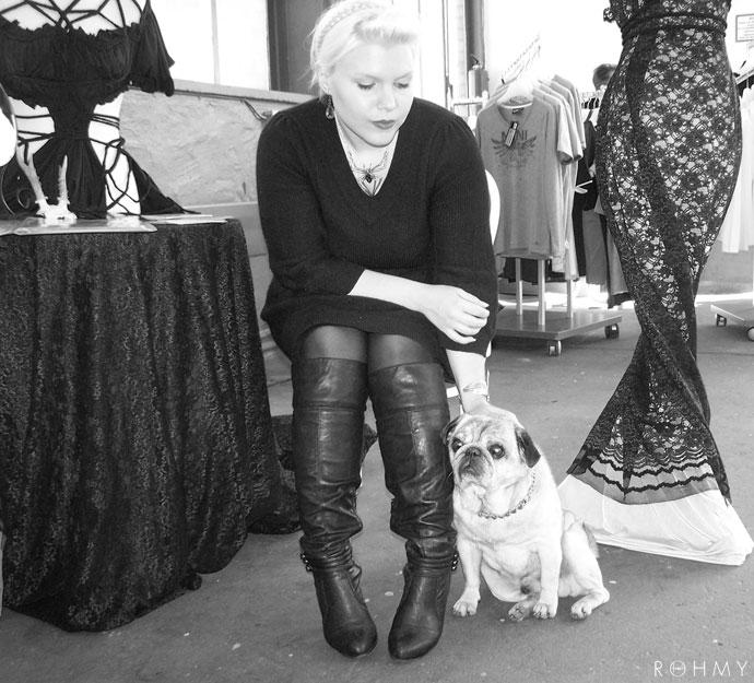 Rohmy & the Pug / Fashioncity East / www.allaboutrohmy.com