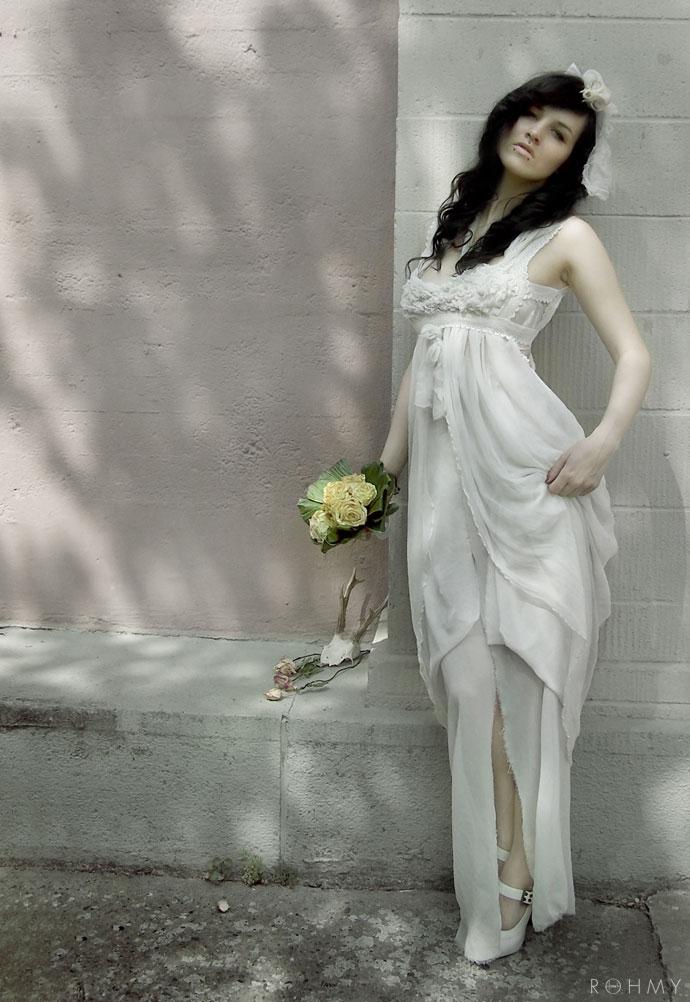 """Dress """"Leda"""" by www.ROHMY.net / Model: Mrs Gravedigger"""