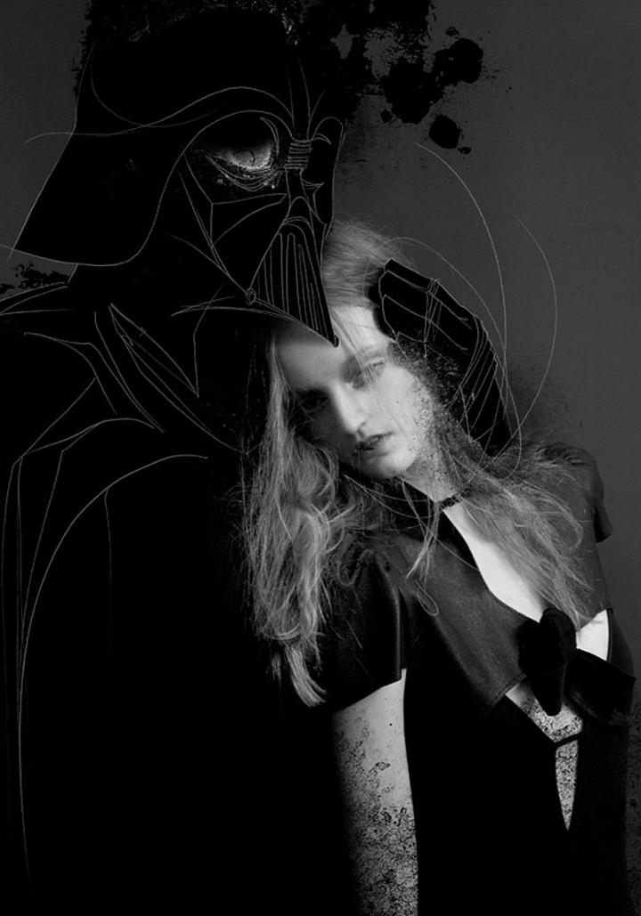 """Artwork: SIT Photographer: Cornelie Tollens """"Dark Vader"""" SOUP Magazine 2011"""