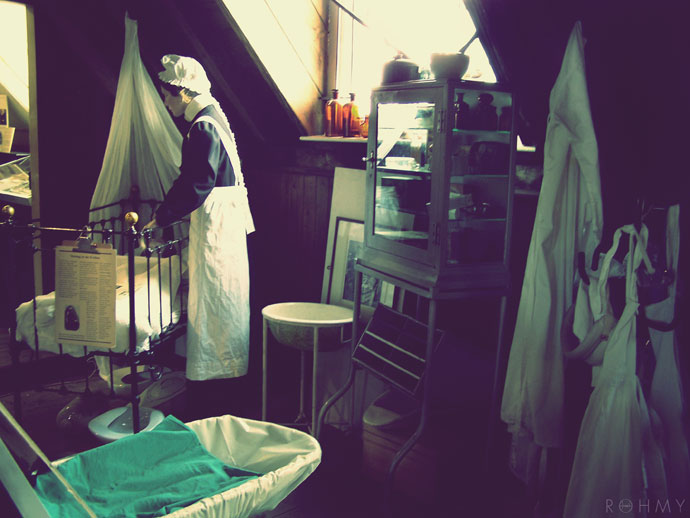 Rohmy in London /The Old Operating Theatre