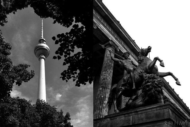 Rohmy in Berlin / Museumsinsel