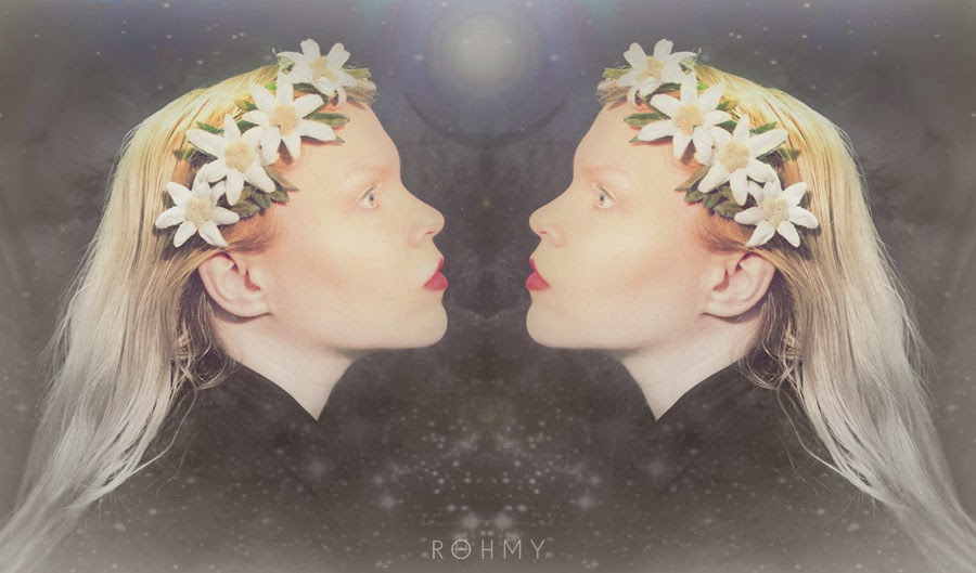 All about Rohmy - Ginger Hair & Edelweiss Hairflowers