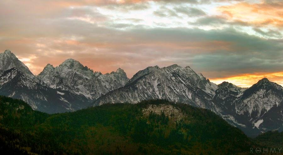 Bavarian Alps #wanderlust / www.allaboutrohmy.com
